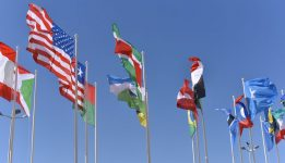 International flags Newsletter