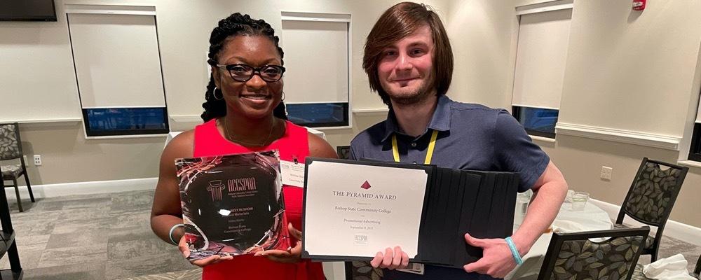Bishop State marketing team holds 16 awards won