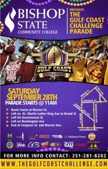 GCC Gulf Coast Challenge 2019 Parade Flier
